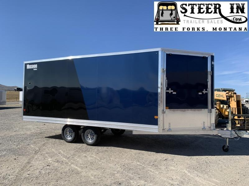 2021 Mission 101X18' Snowmobile Trailer