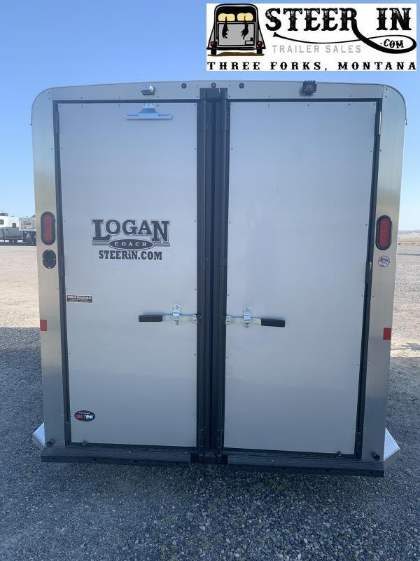 2022 Logan Bullseye 3H BP Horse Trailer