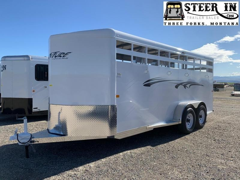 2022 Trails West ADVENTURE II 4H BP Horse Trailer