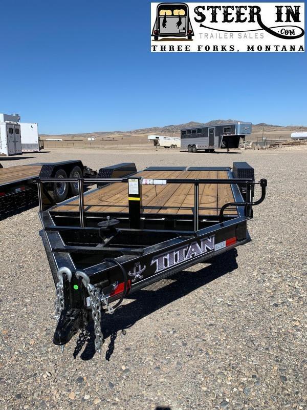 2021 Titan Trailers LO GLIDE Utility Trailer