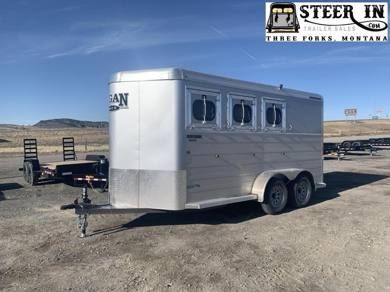 2022 Logan 3H Bullseye BP Horse Trailer