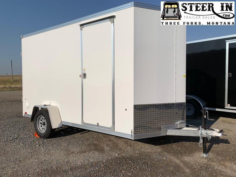 2022 EverLite 6x12' Aluminum Enclosed Cargo Trailer