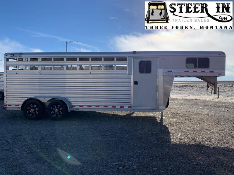 2022 4-Star 20' Stock/Combo Livestock Trailer