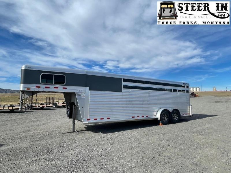 2020 4Star 24' Stock/Combo Livestock Trailer