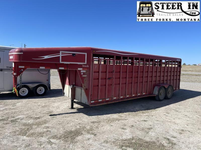 2008 Travalong 24' Stock/Livestock Trailer