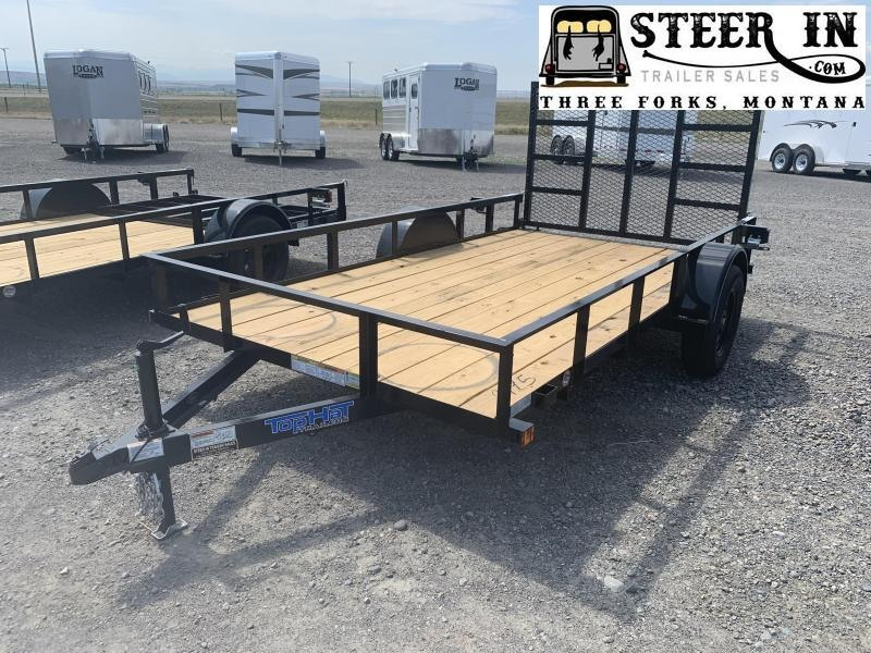 "2021 Top Hat 77""X12' DSA Utility Trailer"