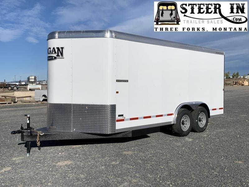 2020 Logan Coach 16' Contractor Enclosed Trailer