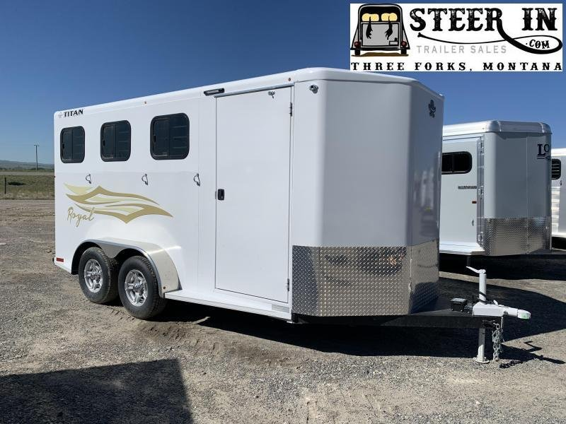 2020 Titan 3H Royal II BP Horse Trailer