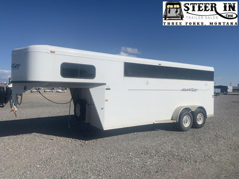 2006 Trails West ADVENTURE 4H Horse Trailer