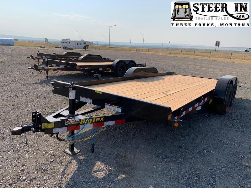 2021 Big Tex 10CH - 18' Equipment Trailer