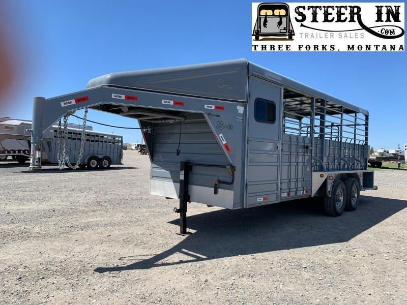 2016 Swift Built 20' Stock/Combo Livestock Trailer