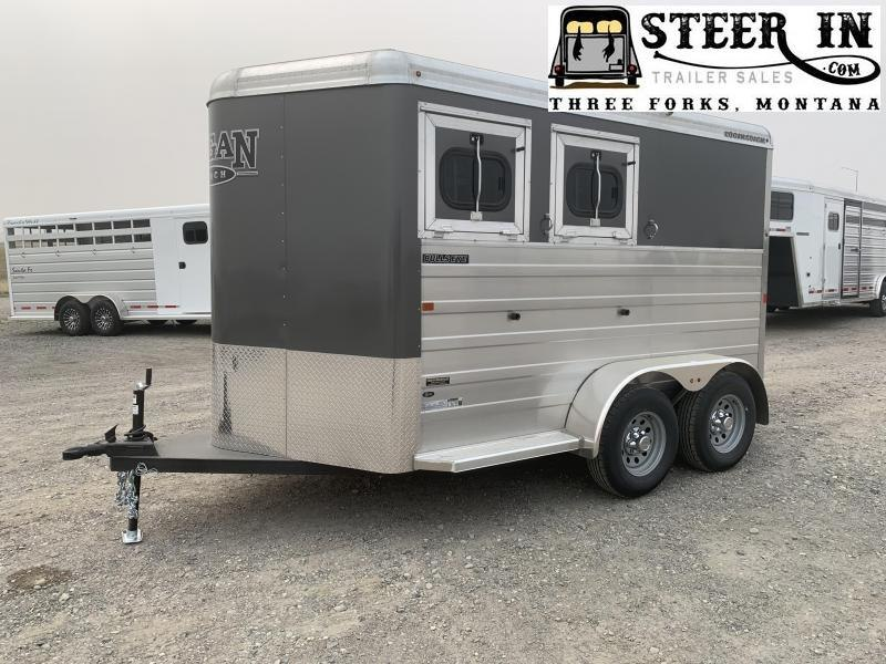 2020 Logan Bullseye 2H BP Horse Trailer