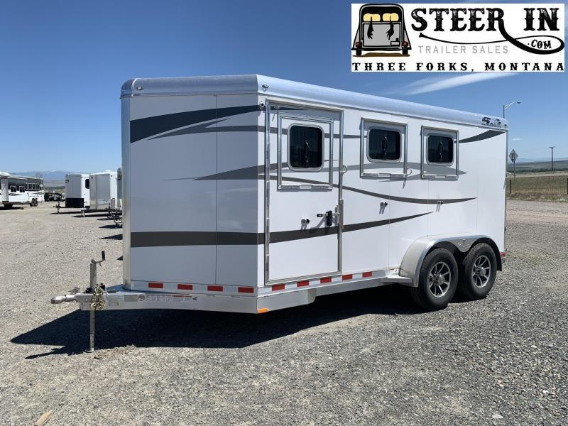 2021 4-Star 3H BP Horse Trailer