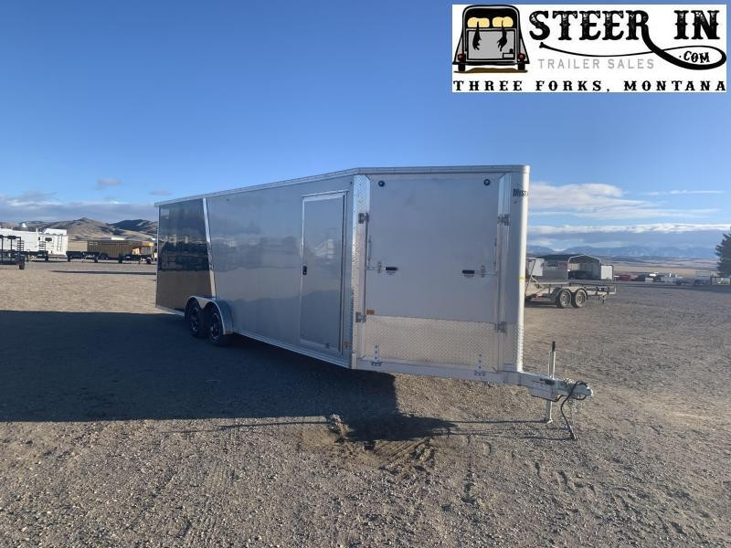 2021 Mission MES7.5x24' Snowmobile Trailer