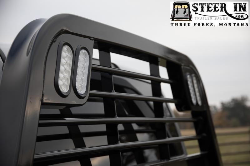 2022 CM Truck Beds RD Single Wheel Steel Flat Deck Truck Bed