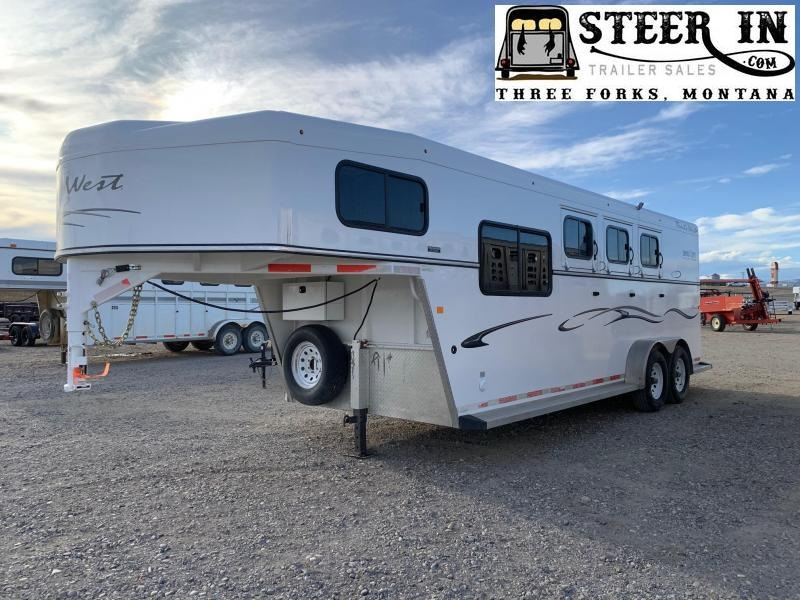 2016 Trails West Classic 3H Slant Load Horse Trailer