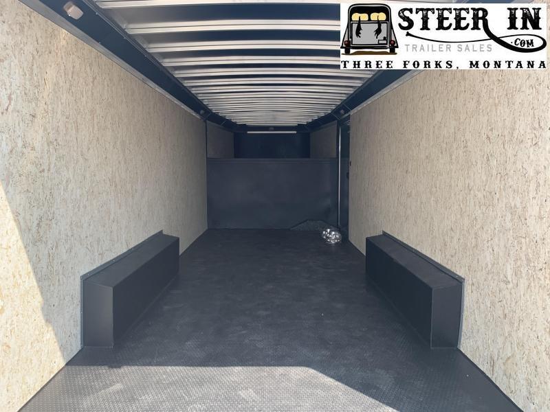 2021 Logan 20' GN Contractor Enclosed Cargo Trailer