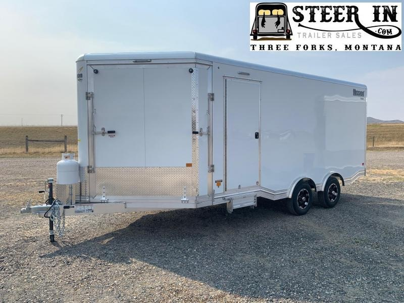 2021 EZ Hauler 8.5X18 Snowmobile/Auto Trailer
