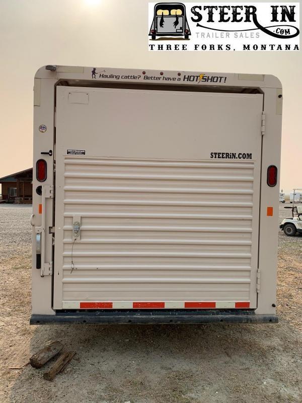 2017 Trails West Hotshot 24' Gooseneck Livestock Trailer