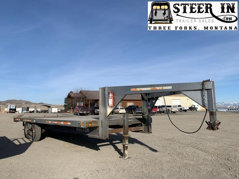 1995 Walton 24'  Flatbed Trailer