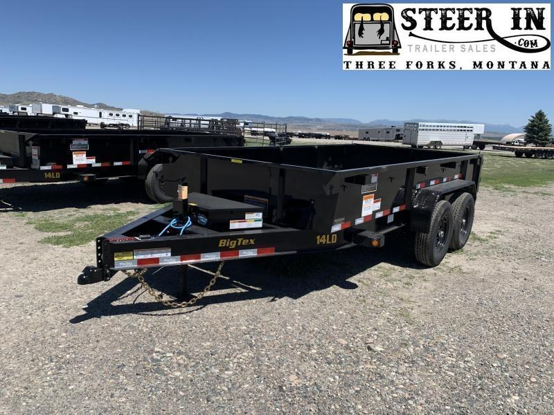 2021 Big Tex  14LD 14'  Dump Trailer