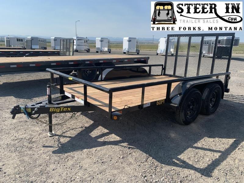 2021 Big Tex 60PI 12' Utility Trailer