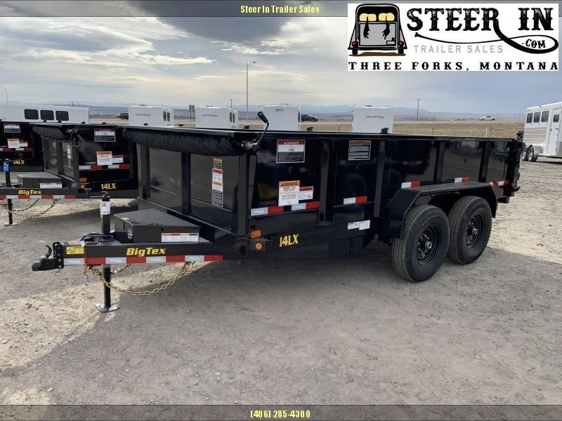 2021 Big Tex 14LX 7x14 Dump Trailer