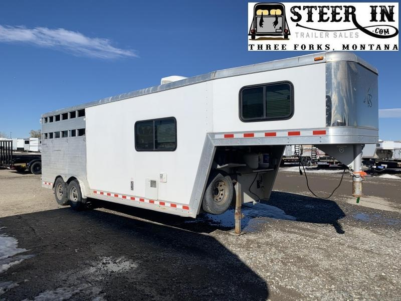 2004 Keifer Built 3H LQ Horse Trailer