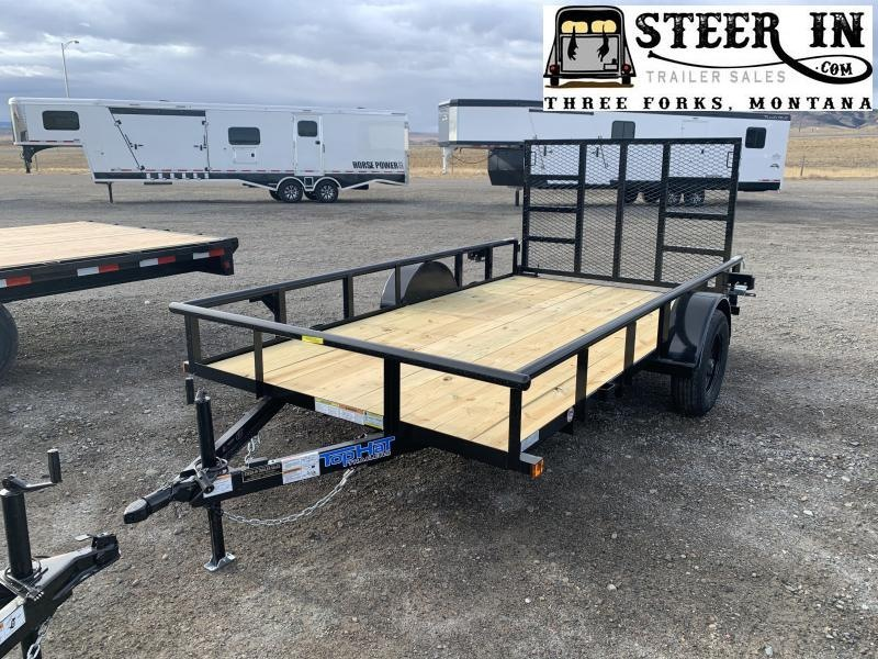 "2021 Top Hat 12'x77"" DSP Utility Trailer"