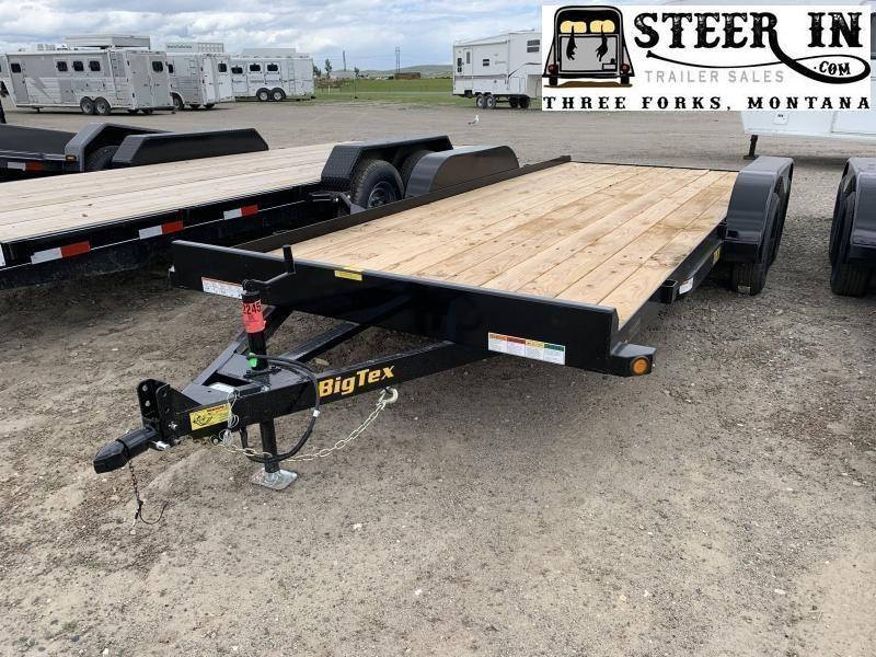 2021 Big Tex 70CH 18' Car Hauler