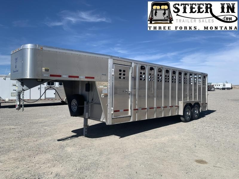 2010 Wilson 24 Ranch Hand 5700 Stock Trailer
