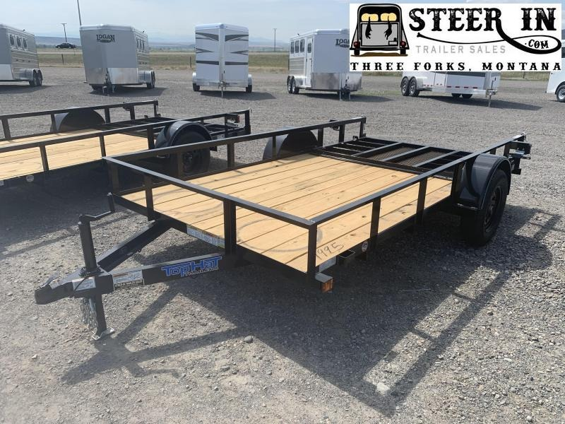 "2020 Top Hat 77""X12' DSA Utility Trailer"