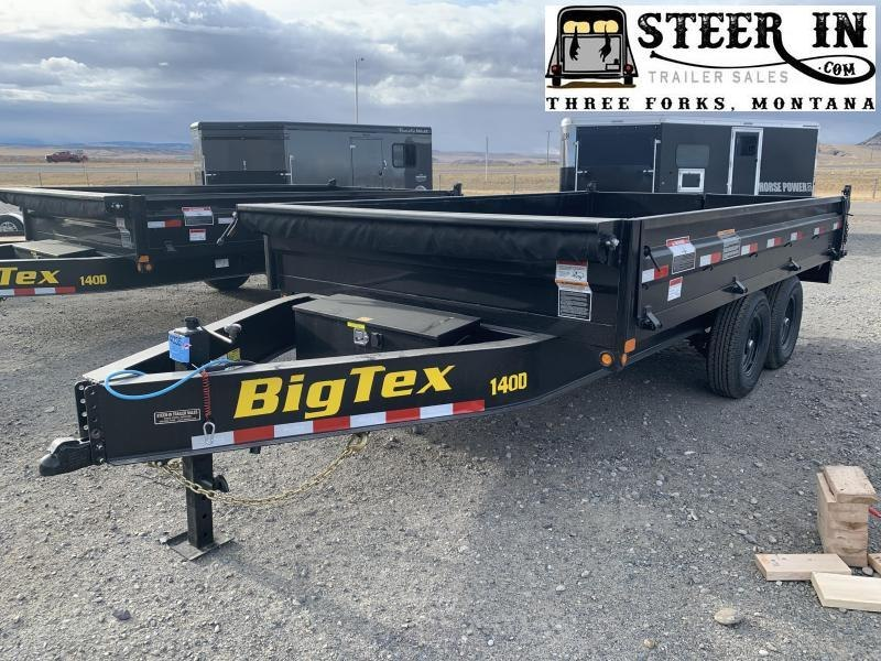 2021 Big Tex 14' 14OD Dump Trailer