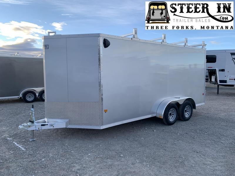 2021 EZ Hauler 7x16' UCP Enclosed Cargo Trailer