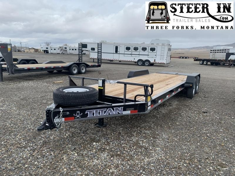 2021 Titan 23' (20+3) LO GLIDE Equipment Trailer