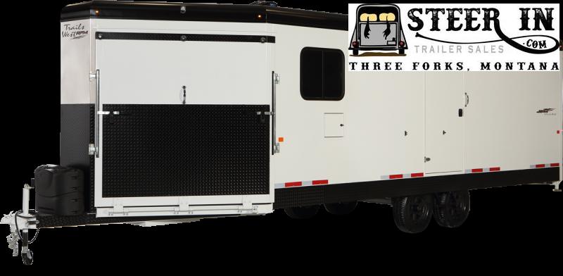2021 Trails West RPM 28' Bumper Pull Snowmobile Trailer