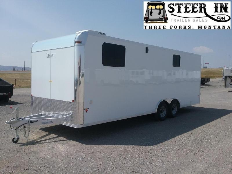 2019 EZ Hauler 8X24 Jobsite Enclosed Cargo Trailer