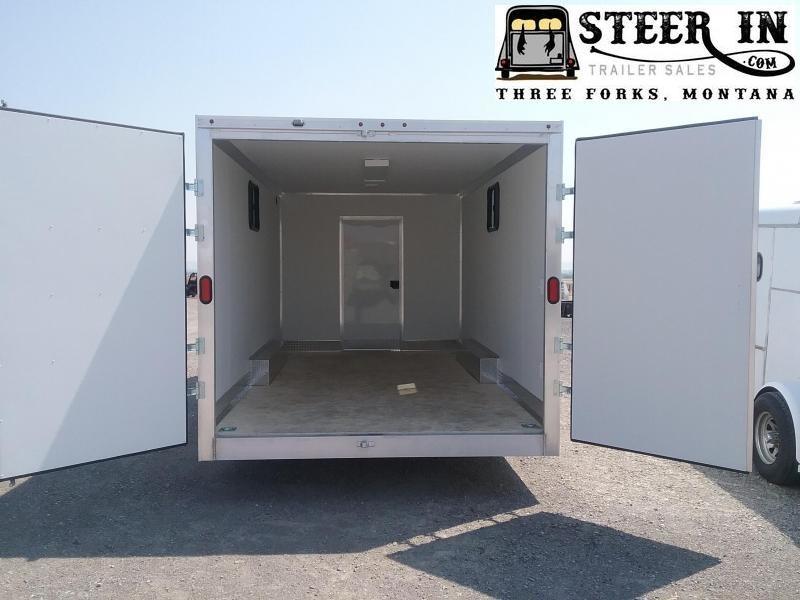 2019 EZ Hauler 8X24 Jobsite Enclosed Cargo Trailer