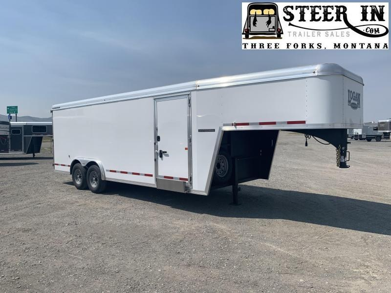 2020 Logan 20' GN Contractor Enclosed Cargo Trailer