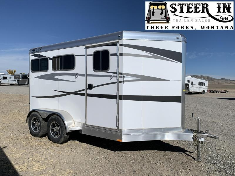 2021 4-Star 2H BP Horse Trailer