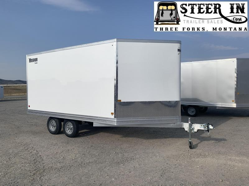 2021 Mission 101X14' Snowmobile Trailer