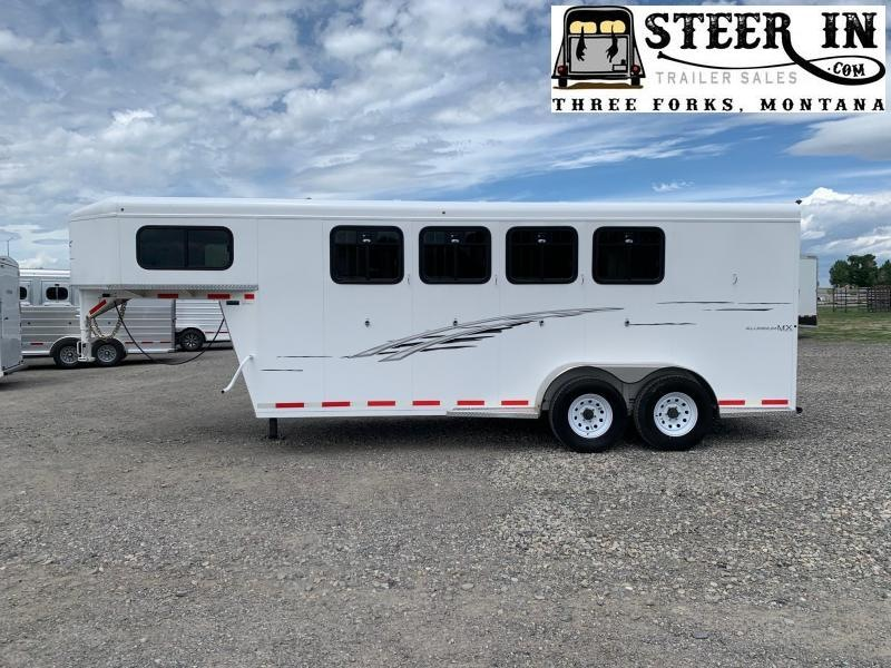 2018 Trails West Adventure MX GN 4-Horse w/ Convenience Package