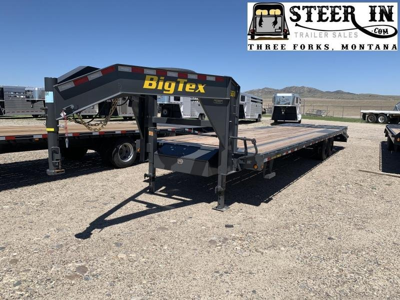 2020 Big Tex Trailers 16GN-25+5 Flatbed Trailer
