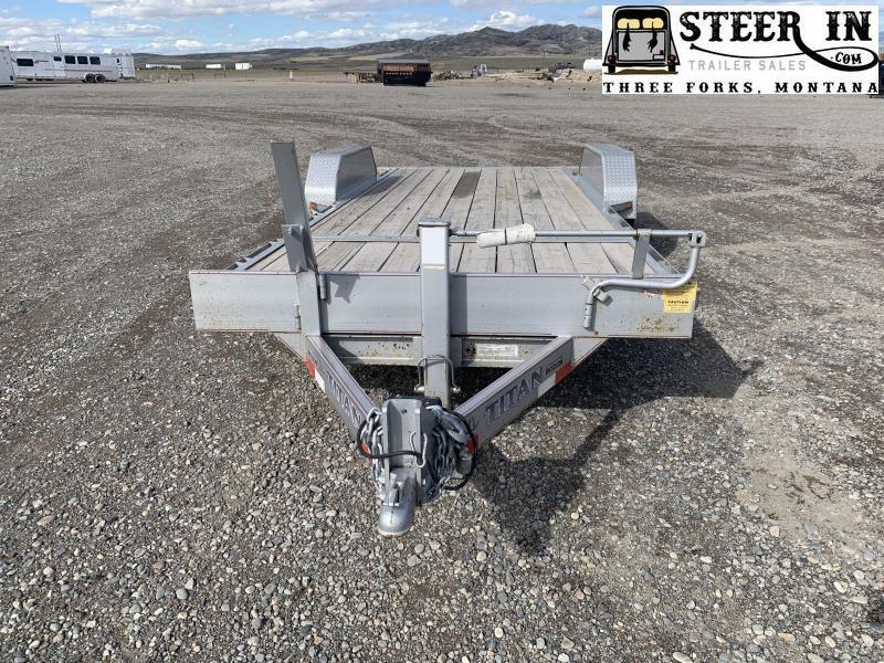 2013 Titan 20' (16+4) TILT Equipment Trailer