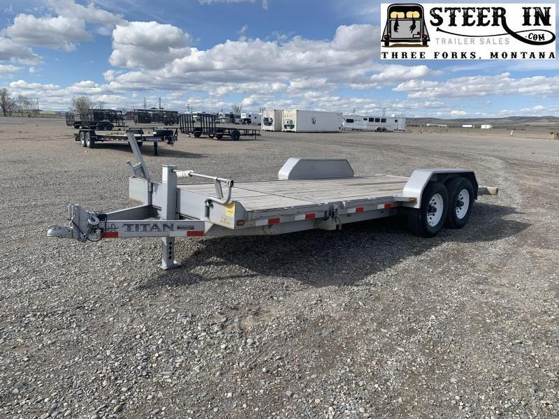 2013 Titan 20' (16+4) TILT Equipment Trailer