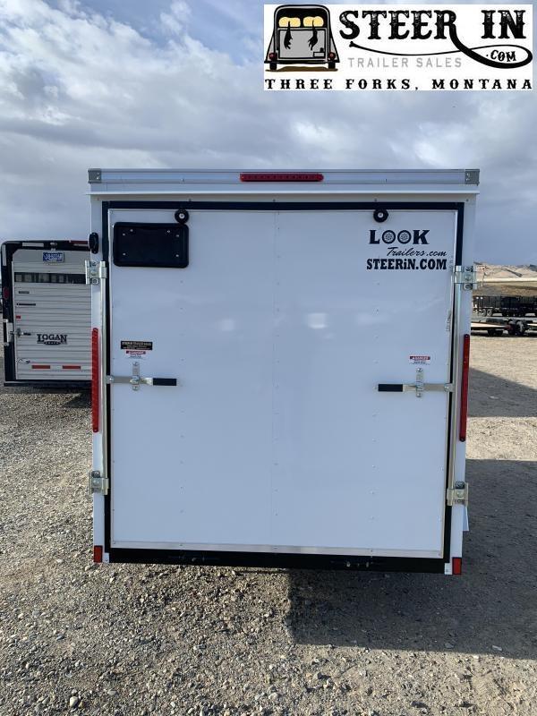 2021 Look 6X10' ST  Enclosed Cargo Trailer