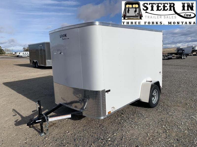 2021 Look 6X10' ST  Enclosed Cargo Trailer