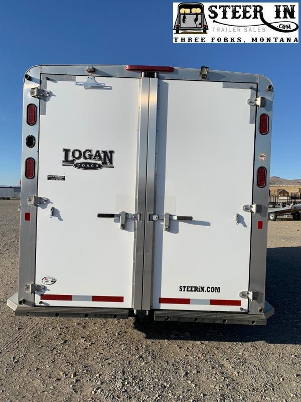 2015 Logan Rampage 3H BP Horse Trailer