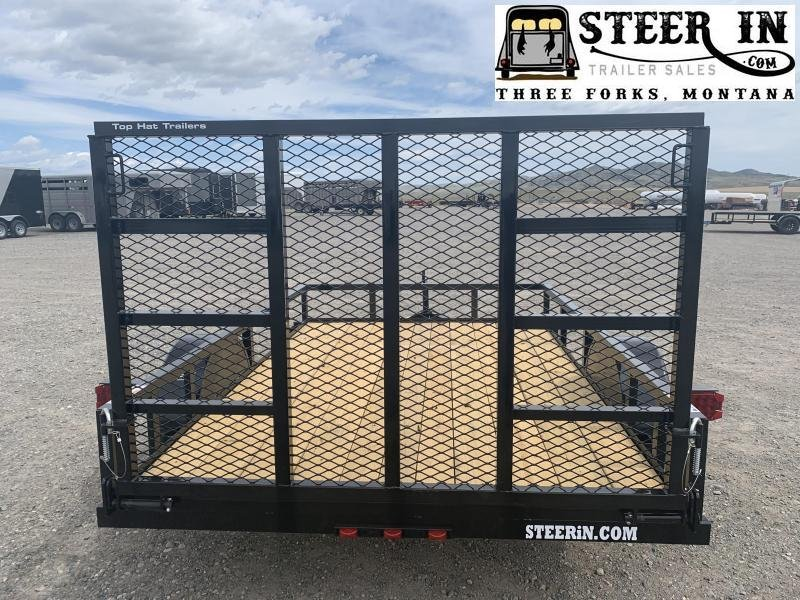 "2021 Top Hat  10'x60"" DSA Utility Trailer"