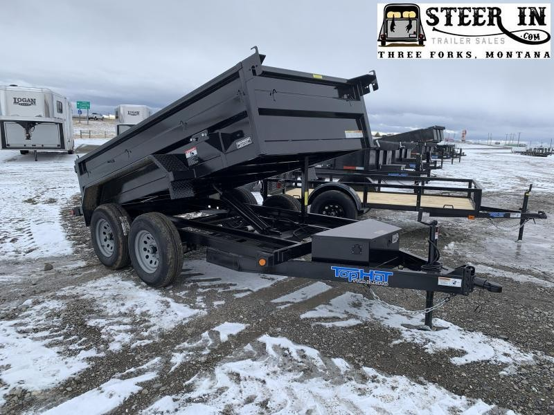 "2021 Top Hat 60""x10' DP70 Dump Trailer"